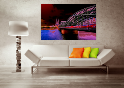 digitale Fotografie und Verfremdung © Marie-Theres Kock