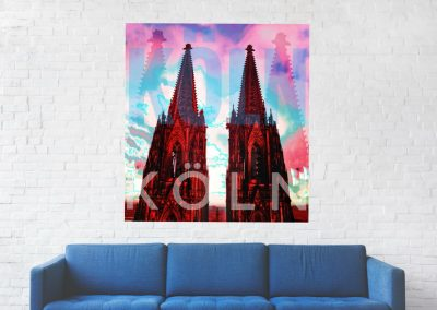 Fotocollage Kölner Dom © Marie-Theres Kock