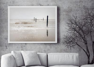 Fotografie der winterliche Nordsee © Marie-Theres Kock