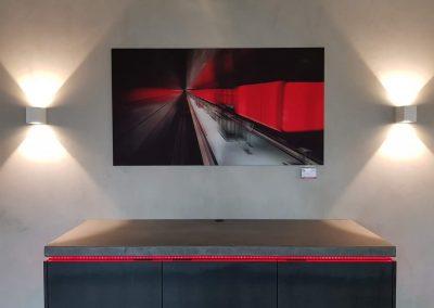 Fotografie, moderne U-Bahn in Hamburg © Marie-Theres Kock