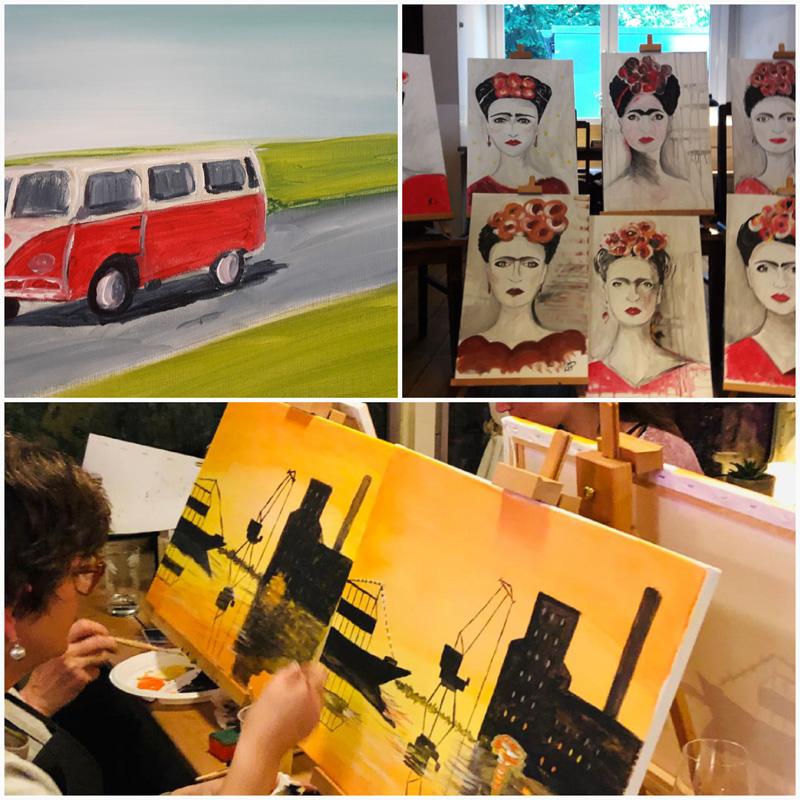 Eventmalerei mit Diane Schless